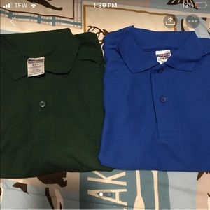 Boys polo shirts size 8